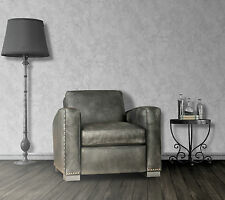 GREY MARBLE EFFECT QUALITY FEATURE DESIGNER WALLPAPER Metallic