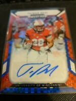 2019 Prizm Draft Prizms Red White and Blue Taiwan Deal 77/99 AUTO Autograph RC