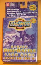 DIGIMON DIGI-BATTLE CARD GAME STREET STARTER SET #2 NEW