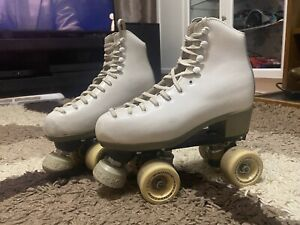 "Roll Line Mirage 2 ""Antea"" Vintage Roller Skates, White, Size 13 ?"