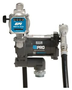 GPRO PRO20-115MD/M30-G8N 115V 20 GPM Fuel Transfer Pump with M30 Meter, Gallon