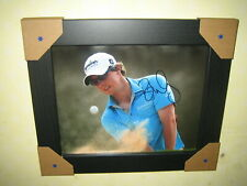 Rory McIlroy {Golf} Signed Photograph {10x8} Framed + CoA BARGAIN CLEARANCE
