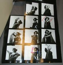 Lainie Kazan Sexy Actress Playboy Original Contact Sheet Proofs & Negatives #13
