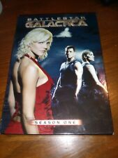 Lot of 3 BSG BATTLESTAR GALACTICA DVD complete Seasons 1, 2, and 2.5 In Case