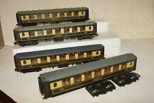 OO gauge CHEAP USED 4x Hornby Dublo Wrenn Pullman Coach 4036 car no. 74 (104)