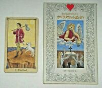 Kabbalah Tarot Of Love - Very Rare OOP 1996 Japanese 22-Card Tarot Deck & Book.