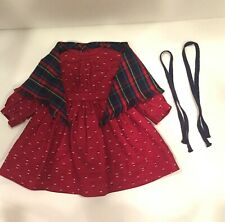 New ListingKirsten's, American Girl Doll, School Dress, Shaw and Ribbons - Retired
