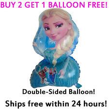 HUGE C Frozen Elsa Mylar Jumbo Balloon Birthday Party Supplies Decoration