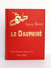Le Dauphiné, Gaston DONNET. Éditions L.-H. May, vers 1900 / Ex-libris / Adresse