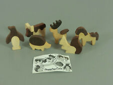 Toy: Puzzle Zoo 1985 - Complete Package (Animals Glued) +1 Bpz