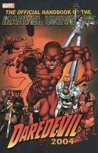 THE OFFICIAL HANDBOOK OF THE MARVEL UNIVERSE 2004 DAREDEVIL