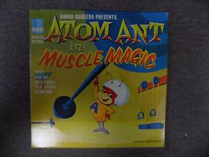 Atom Ant - Muscle Magic - 1965 - Hanna Barbera - Original -Vinyl - Ex
