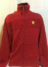 Red Puma Ferrari Long Sleeve Sweatshirt XL