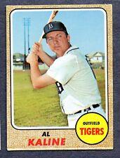 1968 Topps #240 Al Kaline -  Detroit Tigers  Ex