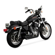 Vance & Hines 2 1/4 ShortShots Staggered Schwarz Harley-Davidson Sportster 99-03