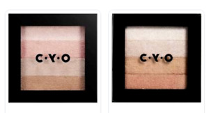 CYO Shimmer Switch Bronzing & Highlighting Palette - Radiant Brick Compact NEW!