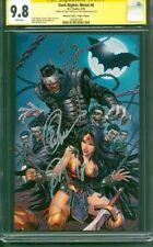 Batman Dark Knights Metal 6 Kirkham Virgin Variant CGC 2XSS 9.8 vs Wonder Woman