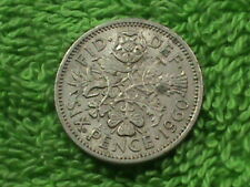 GREAT BRITAIN 6 Pence 1960