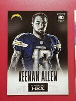 2013 Panini Football HRX 1 Keenan Allen RC San Diego Chargers WR #13 rookie card