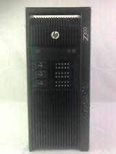HP Z820 16-Core 2.7GHz E5-2680 128GB RAM 480GB SSD 9TB HDD Quadro 410 Win 10 Pro