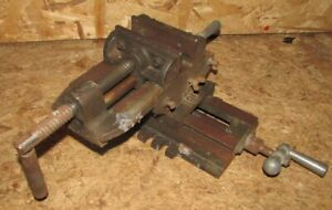 """Compound Milling Drilling Cross Slide Vice 4"""" 100mm Wide Jaws for Drill Press"""