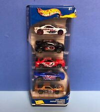FLAG FLYERS Gift Pack 2002 Mattel HOT WHEELS with NISSAN SKYLINE (5-car set)