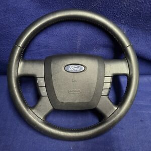 2007-11 OEM Complete Ford Ranger Stitched Leather Steering Wheel w/ Cruise & SRS