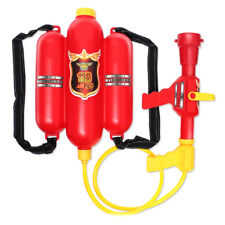 Pulling Backpack Super Water Gun Fire Extinguisher Shape Kids Bathing Toys