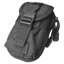 CONDOR TACTICAL I-POUCH PADDED UNIVERSAL GADGET POCKET MODULAR POLICE CASE BLACK