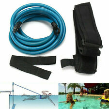 Swim Bungee Training Belt Swimming Pool Resistance Safety Leash Exerciser Tether