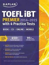 Kaplan TOEFL iBT Premier 2014-2015 with 4 Practice Tests: Book + 2CD + Online…