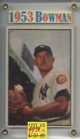 Allie Reynolds  New York Yankees  1953 Bowman #68 BV/$100