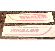 "Boston Whaler ORIGINAL vinyl decal 18"" OEM"