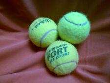 3 ausgesuchte saubere gebrauchte Tennisbälle,  u.a. für Trockner Waschmaschine,