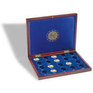 """Münzkassette VOLTERRA für 20 2-Euro-Münzen """"10 Jahre WWU"""" Leuchtturm 325441"""