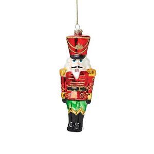 Sass & Belle Nutcracker Doll Shaped Christmas Bauble