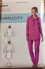 Simplicity 9210 Ladies Size XXS-XXLarge Loungewear Tops Hoodie And Pants