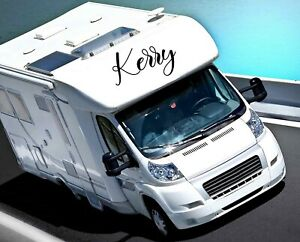 PERSONALISED MOTORHOME NAME STICKER Decals / Stickers / Graphics / MOTOR HOME
