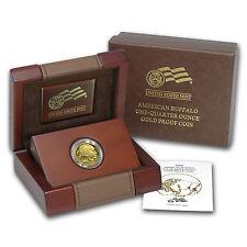 2008-W 1/4 oz Proof Gold Buffalo (w/Box & COA) - SKU #57206