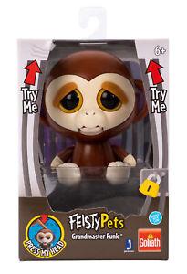 Feisty Pets - Monkey - 10cm (NEU & OVP!)