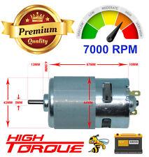 RS 775 High Torque 12V Brushed DC Motor, Big Strong motor, High RPM, DIY Project
