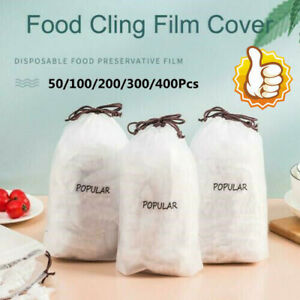 50/100/200/400X Fresh Keeping Bags Dustproof Disposable Bowl Cover Vacuum Sealed