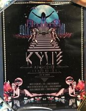 Kylie Minogue APHRODITE promo poster for blu-ray / DVD 17.5 x 24