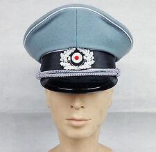 WWII German Elite Officer Wool Cap Hat - L