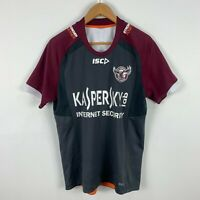 Manly Sea Eagles Shirt Mens Medium Short Sleeve ISC NRL