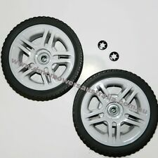 "lawnmower wheels 2 x 8""  suits DMC rover masport parklander lawn mower"