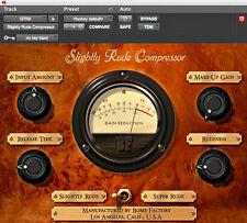 AVID Digidesign Slightly Rude Compressor iLok license for PRO TOOLS 6 7 8 9 HD