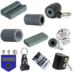 Darts Sharpening Stones Keyring 10 Different Sharpeners To Choose