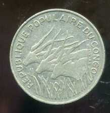 CONGO   100  francs 1971
