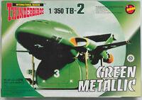 THUNDERBIRDS : 1/350 THUNDERBIRD 2 GREEN METALLIC VERSION MODEL KIT BY IMAI